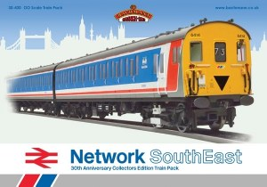 Bachmann OO 30-430 Network SouthEast Capital Commuter Train Pack
