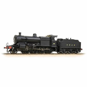 Bachmann OO 31-014 Class 7F 2-8-0 89 S&DJR Plain Black