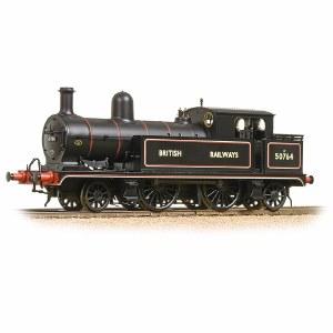 Bachmann OO 31-170 L&YR 2-4-2 Tank 50764 British Railways Lined Black