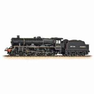 Bachmann OO 31-190 Jubilee 45575 'Madras' BR Black British Railways Lined Black (Riveted Stanier tender)