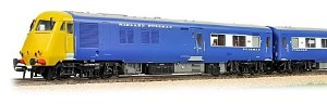 Bachmann OO 31-256DC Midland Pullman 6 Car Unit BR Blue Half Yellow Ends