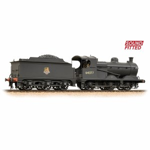 Bachmann OO 31-321DS Robinson Class J11 (GCR 9J) 64377 BR Early Emblem - DCC Sound & Weathered