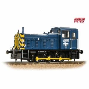 Bachmann OO 31-368DS Class 03 03026 BR Blue - DCC Sound