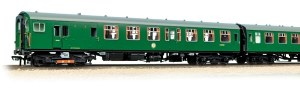 Bachmann OO 31-426B 4 CEP 4 Car EMU 7122 BR(SR) Green Small Yellow Warning Panel
