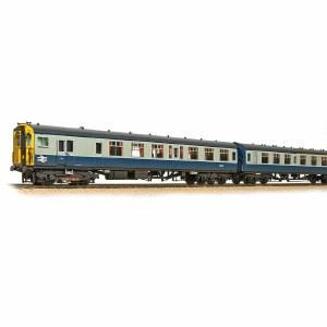 Bachmann OO 31-427C Class 411 4-CEP 4-Car EMU 7106 BR Blue & Grey - Weathered