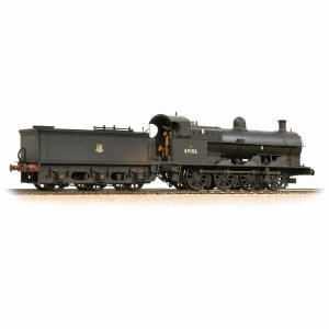 Bachmann OO 31-481 G2A 49106 BR Black Early Emblem Weathered