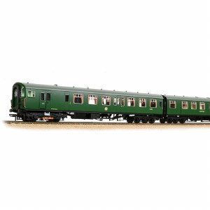 Bachmann OO 31-490 4 BEP 4 Car EMU 7003 BR Green Small Yellow Panel