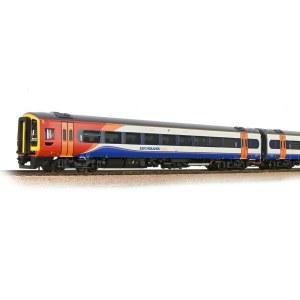 Bachmann OO 31-518SF Class 158 2-Car DMU 158773 East Midlands Trains - Sound Fitted