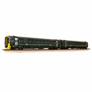 Bachmann OO 31-519SF Class 158 2-Car DMU 158766 GWR Green (FirstGroup) - Sound Fitted