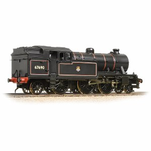 Bachmann OO 31-615 V3 Tank 67690 BR Lined Black Early Emblem Straight Pipes