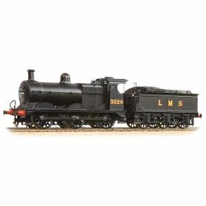 Bachmann OO 31-627B Class 3F 3520 LMS Black Deeley Tender