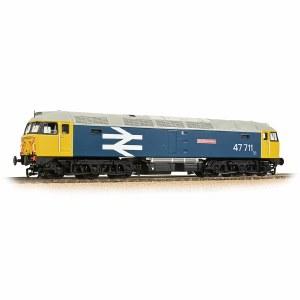 Bachmann OO 31-665 Class 47/7 47711 'Greyfriars Bobby' BR Blue (Large Logo)