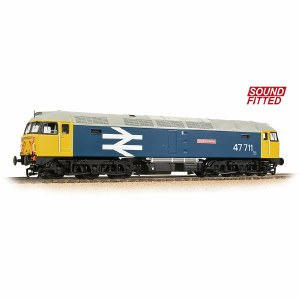Bachmann OO 31-665SF Class 47/7 47711 'Greyfriars Bobby' BR Blue (Large Logo) - Sound Fitted