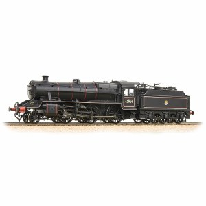 Bachmann OO 31-691 LMS Stanier Mogul 42969 BR Lined Black Early Emblem