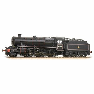 Bachmann OO 31-692 LMS Stanier Mogul 42968 BR Lined Black Late Crest Preserved