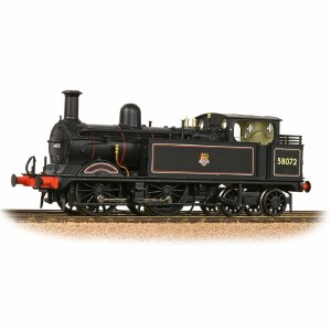 Bachmann OO 31-742 Midland Railway 1532 Class (1P) 0-4-4 58072 BR Lined Black Early Emblem