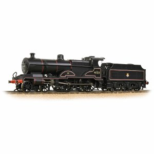 Bachmann OO 31-932 LMS 4P Compound 41123 BR Lined Black (Early Emblem)