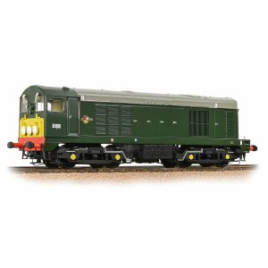 Bachmann OO 32-027B Class 20 D8011 BR Green Small Yellow Panel Indicator Disks