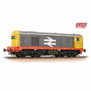 Bachmann OO 32-030DS Class 20 20156 BR Railfreight Red Stripe - DCC Sound