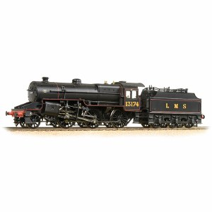 Bachmann OO 32-178A LMS Crab 13174 LMS Lined Black