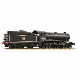 Bachmann OO 32-281 K3 Class 61862 BR Lined Black Early Emblem
