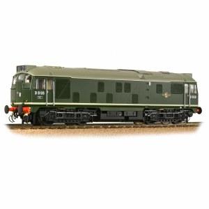 Bachmann OO 32-440 Class 24/1 D5135 BR Green