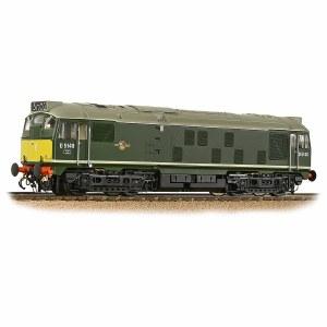 Bachmann OO 32-441SF Class 24/1 D5149 BR Green (Small Yellow Panels)