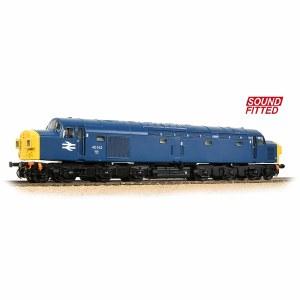Bachmann OO 32-486SF Class 40 Split Headcode 40142 BR Blue - Sound Fitted
