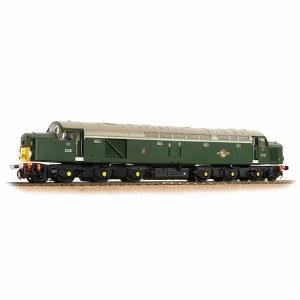 Bachmann OO 32-487 Class 40 Disc Headcode D213 'Andania' BR Green (Small Yellow Panels)