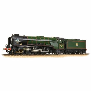 Bachmann OO 32-550D LNER A1 60163 'Tornado' BR Lined Green (Late Crest)