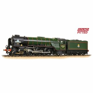 Bachmann OO 32-550DSF LNER A1 60163 'Tornado' BR Lined Green (Late Crest) - Sound Fitted