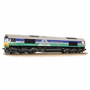 Bachmann OO 32-738 Class 66 66711 'Sence' GBRF Aggregates