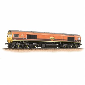 Bachmann OO 32-739SF Class 66/4 66419 Freightliner G&W - Sound Fitted
