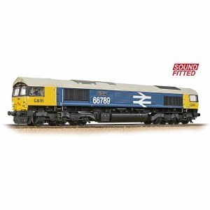 Bachmann OO 32-740SF Class 66/7 66789 'British Rail 1948-1997' GBRf BR Blue (Large Logo) - Sound Fitted