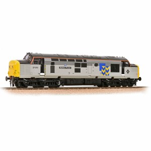 Bachmann OO 32-778RJ Class 37/0 37275 'Stainless Pioneer' BR Railfreight Metals