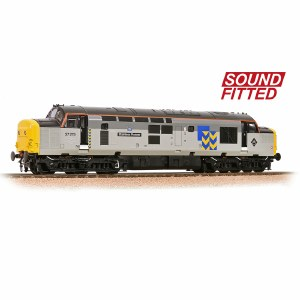 Bachmann OO 32-778RJSF Class 37/0 37275 'Stainless Pioneer' BR Railfreight Metals