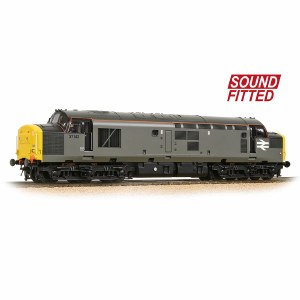 Bachmann OO 32-788DBDS Class 37/0 37142 BR Engineers Grey with DCC Sound