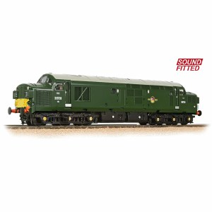 Bachmann OO 32-791DS Class 37/0 D6739 BR Green Small Yellow Panel