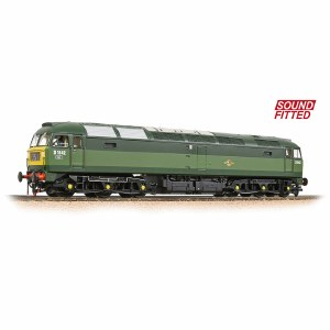 Bachmann OO 32-806DS Class 47/0 D1842 BR Two-Tone Green (Small Yellow Panels) - Sound Fitted