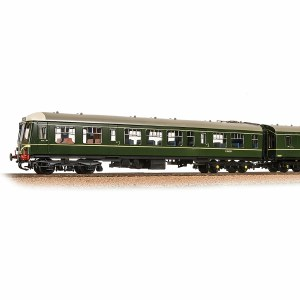 Bachmann  OO 32-900C Class 108 2-Car DMU BR Green (Speed Whiskers)