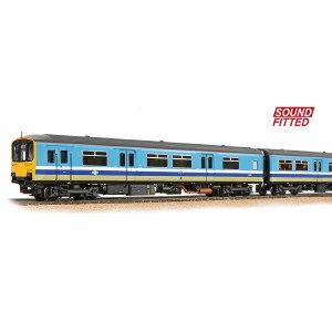 Bachmann OO 32-929SF Class 150/1 2-Car DMU 150115 BR Provincial (Original) - Sound Fitted