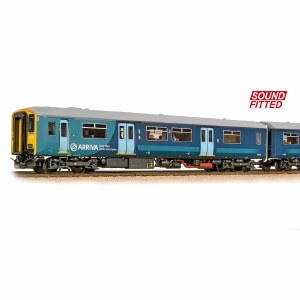 Bachmann OO 32-939DS Class 150/2 150236 Arriva Trains Wales 2013 Livery - DCC Sound