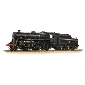 Bachmann OO 32-954A BR Standard 4MT with BR2A Tender 76084 BR Lined Black (Early Emblem)