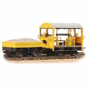 Bachmann OO 32-992 Wickham Type 27 Trolley Car BR Engineers Yellow