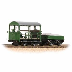 Bachmann OO 32-994 Wickham Type 27 Trolley Car Green