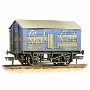 Bachmann OO 33-179B 10 Ton Covered Salt Wagon 'Shaka Salt' Weathered