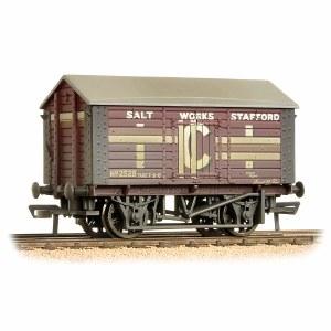 Bachmann OO 33-186 10 Ton Covered Salt Wagon 'ICI' Weathered