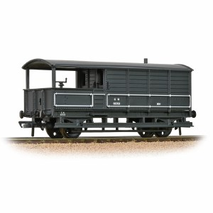 Bachmann OO 33-300H GWR 20T 'Toad' Brake Van GWR Grey