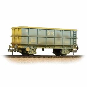 Bachmann OO 33-435C 51 Tonne SSA Scrap Wagon 'SR' Blue & Grey Weathered