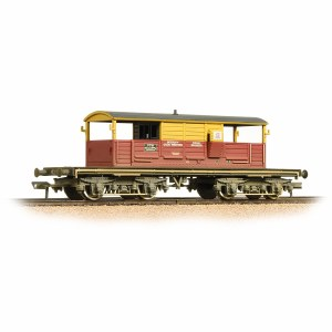 Bachmann OO 33-831 25 Ton Queen Mary Brake Van SatLink Weathered